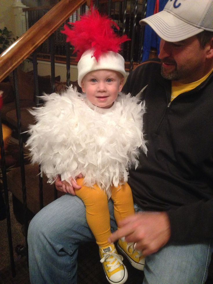 baby chicken costume was a success
