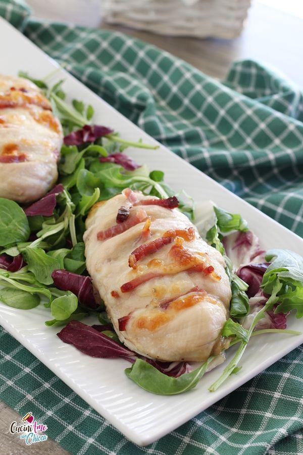 Preparazione originale e gustosa pronta in poche mosse! Ingredienti per 4 persone : petto di pollo ...