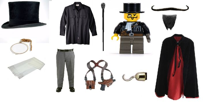 Lord Sinister Costume ideas. Lord Sinister is from LEGO Adventurers.