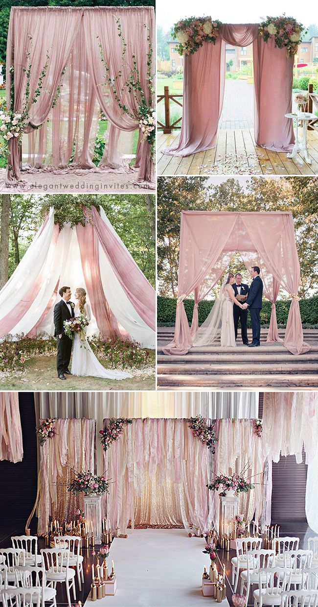 35 Trendy Romantic All Time Dusty Rose Wedding Ideas Elegantweddinginvites Com Blog Wedding Backdrop Design Dusty Rose Wedding Wedding Reception Backdrop