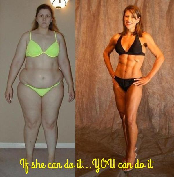 If she can do it..you can do it - #fitness #fitspiration