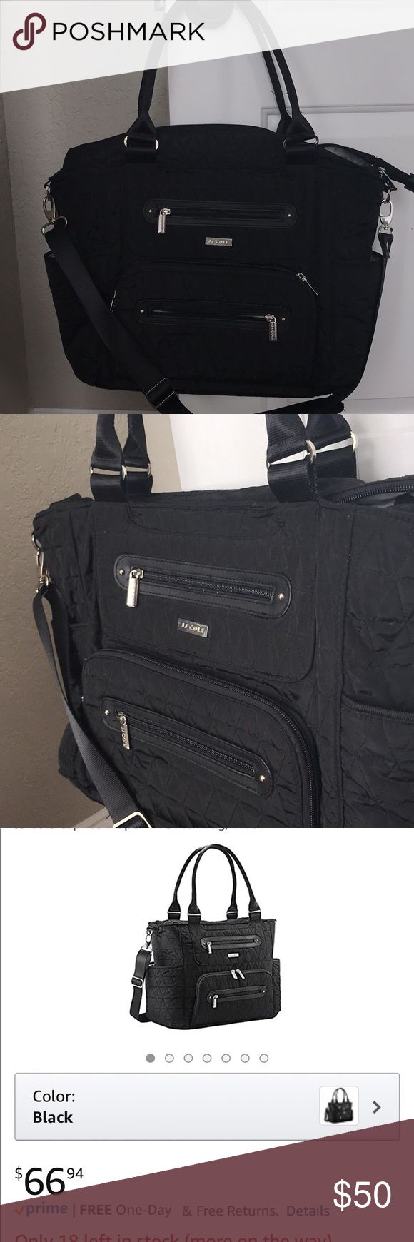 JJ Cole Diaper bag Brand new, never used. Also includes changing pad and stroller hooks Bags Baby Bags