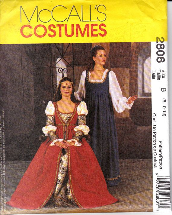 146 best Patterns - Costumes images on Pinterest | Sewing patterns ...