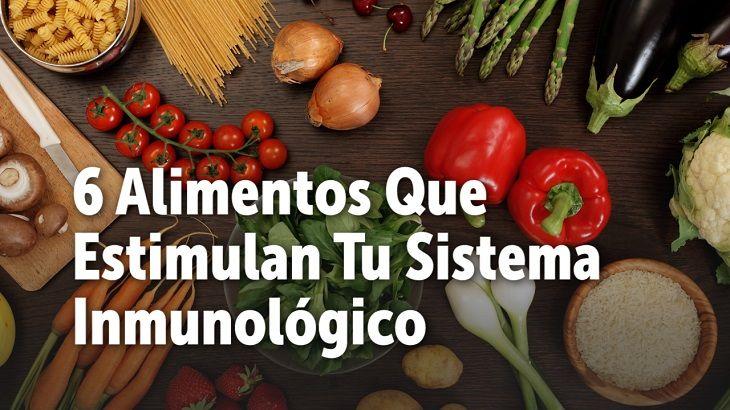 Cuidar de nuestro sistema inmunológico nos protege de enfermedades e infecciones. Te presentamos 8 alimentos que te ayudarán a estimular el sistema inmunológico.