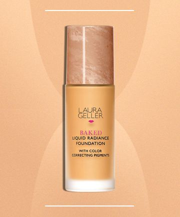 Laura Geller Baked Liquid Radiance Foundation, $38 Best Foundation for Natural Color Correction - good for covering hyperpigmentation and looking natural $38