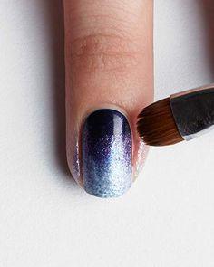 Un nail art ombré à réaliser soi même                                                                                                                                                                                 Plus