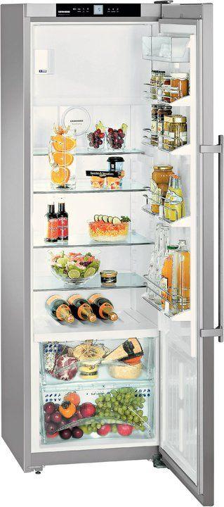 KBPes 3864-20 Standkühlschrank mit Gefrierfach edelstahl / A+++