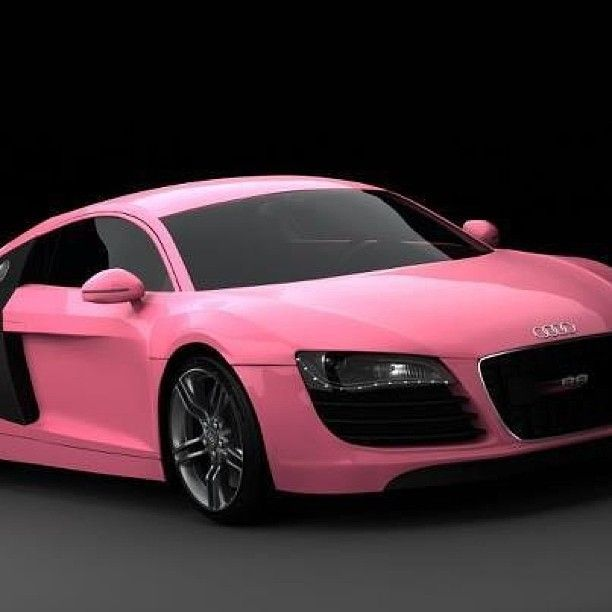barbie pink audi r8 is so pretty. Black Bedroom Furniture Sets. Home Design Ideas