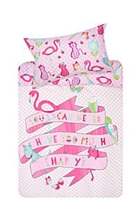 TOO MUCH HAPPY DUVET COVER SET