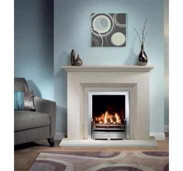Beautiful marble Fireplace with Jura stone. Available as discounted fireplace package complete with Marble fireplace and Gas Fire  http://www.lovefireplaces.co.uk/limestone-fireplaces/oak-fire-surrounds/cranbourne-jurastone-fireplace-package-complete-with-clevedon-gas-fire.html
