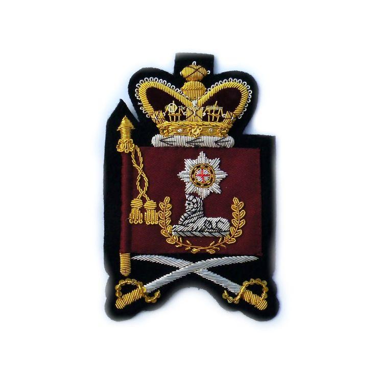 Victorian Pattern  Colour Sgt. Coldstream Guards Insignia