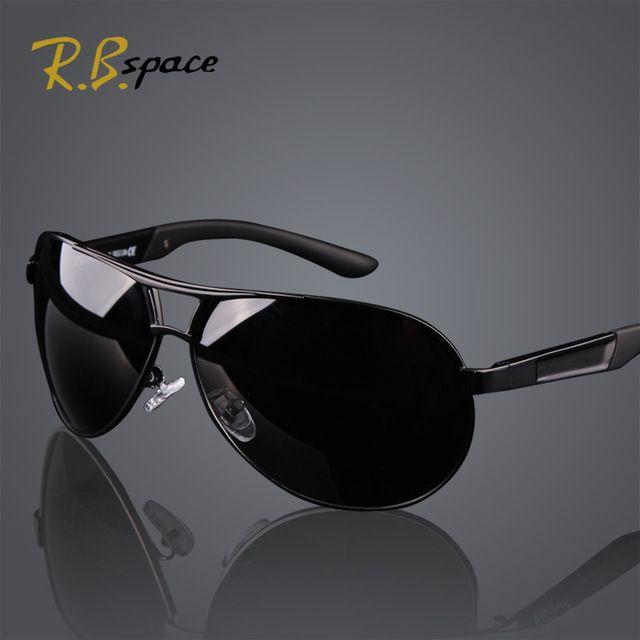 Hot 2015 hombres de la manera UV400 de las gafas de sol polarizadas de los hombres de recubrimiento de conducción Aviator Espejos Gafas Gafas de Sol para Hombres con el caso de la caja