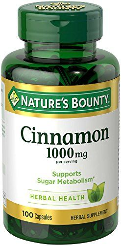 #Nature's Bounty Cinnamon is probably best known for its sweet aroma and delicious flavor, but that's not all it's good for. Our Cinnamon capsules contribute to ...