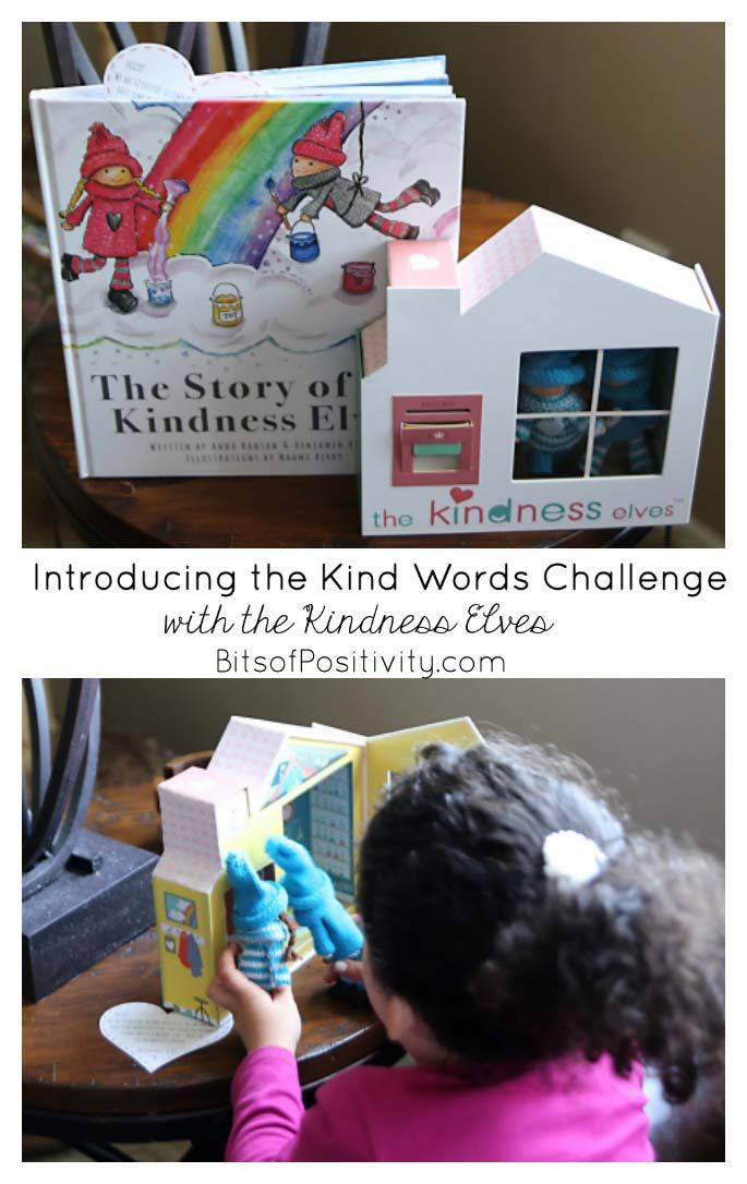 The Kind Words Challenge is a great way to use Kindness Elves in February to encourage kind words and good manners throughout the month.