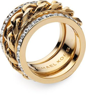 Michael Kors Stack Ring! oh my I'm in love.