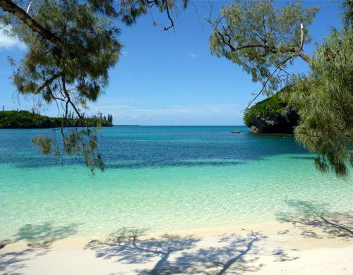 Iles de Pins is a South Pacific tropical paradise.
