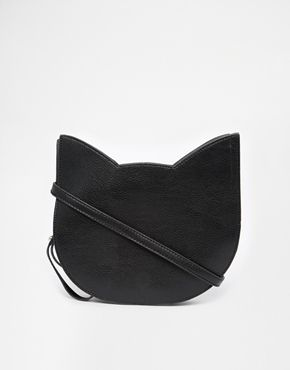 THE WHITEPEPPER Exclusive to ASOS Cat Bag