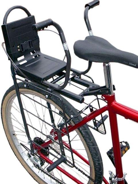 Cadeirinha traseira infantil para bagageiro de bicicleta- Bike (R$ 89,00)