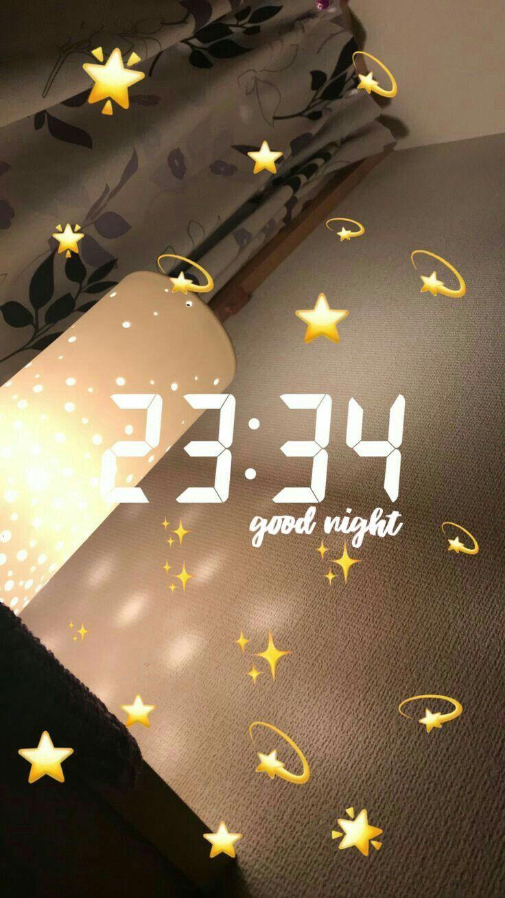 IDEEN FÜR FOTOS VON SNAPCHAT # #nacht #goodnight …