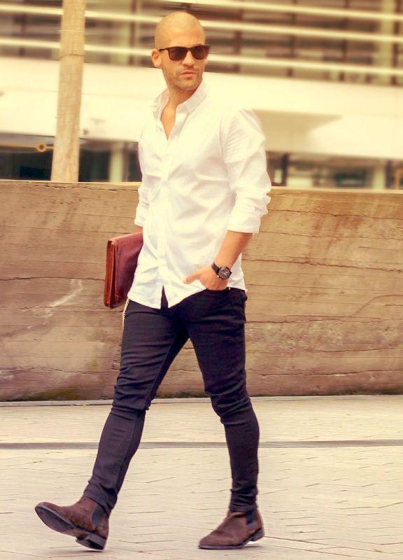 Simple and Clean White Shirt Outfit - white shirt e3a7de52c
