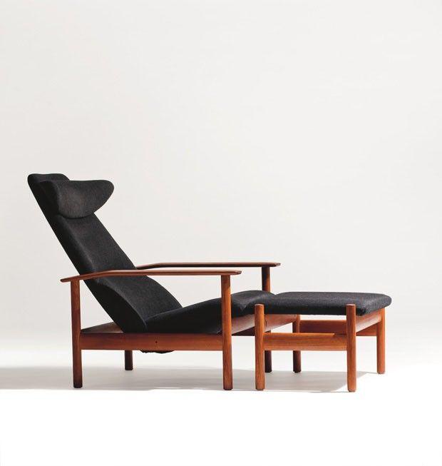 Cadeira reclinável 1001, 1960, design Sven Ivar Dysthe.