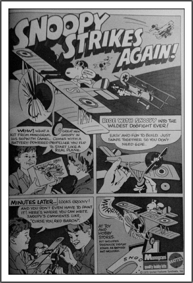 Snoopy Monogram Model: Mattel Inc. (1970)