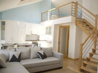 Exceptional loft-style apartment in central Nazaré, 2 min. from beach *free wifiVacation Rental in Nazare from @HomeAway! #vacation #rental #travel #homeaway