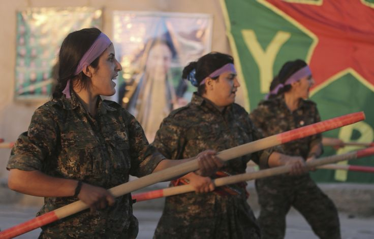 Kurdish female suicide fighter hailed as heroine for killing several Isis militants.