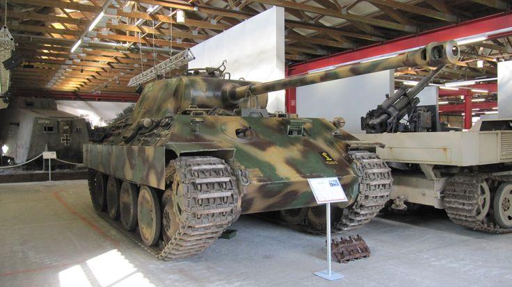Panther Saksan panssarimuseo Munster