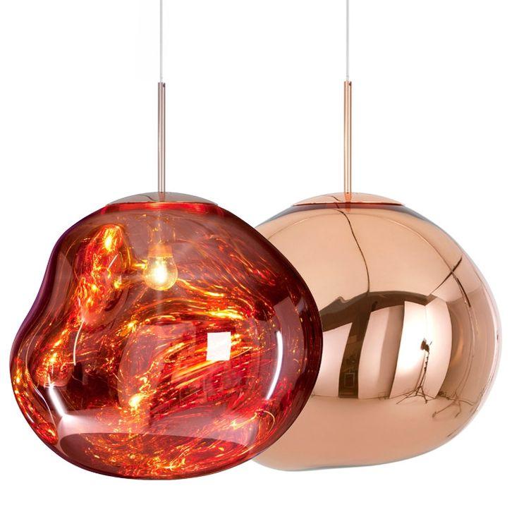 Melt Copper pendel Taklampe Designe:  Tom Dixon Leverandør ? År:?