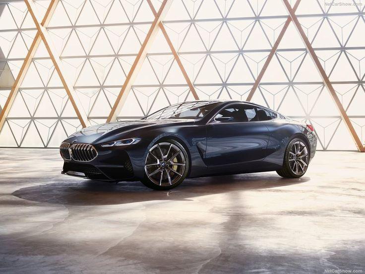 Cette BMW Série 8 Concept nous dévoile à 90% la future grosse coupé qui rentrera prochaine en concurrence avec le Mercedes Classe S Coupé.