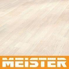 Meister Parkett Premium PC 300 lebhaft Lärche weiß 8257 3-Stab-Schiffsboden