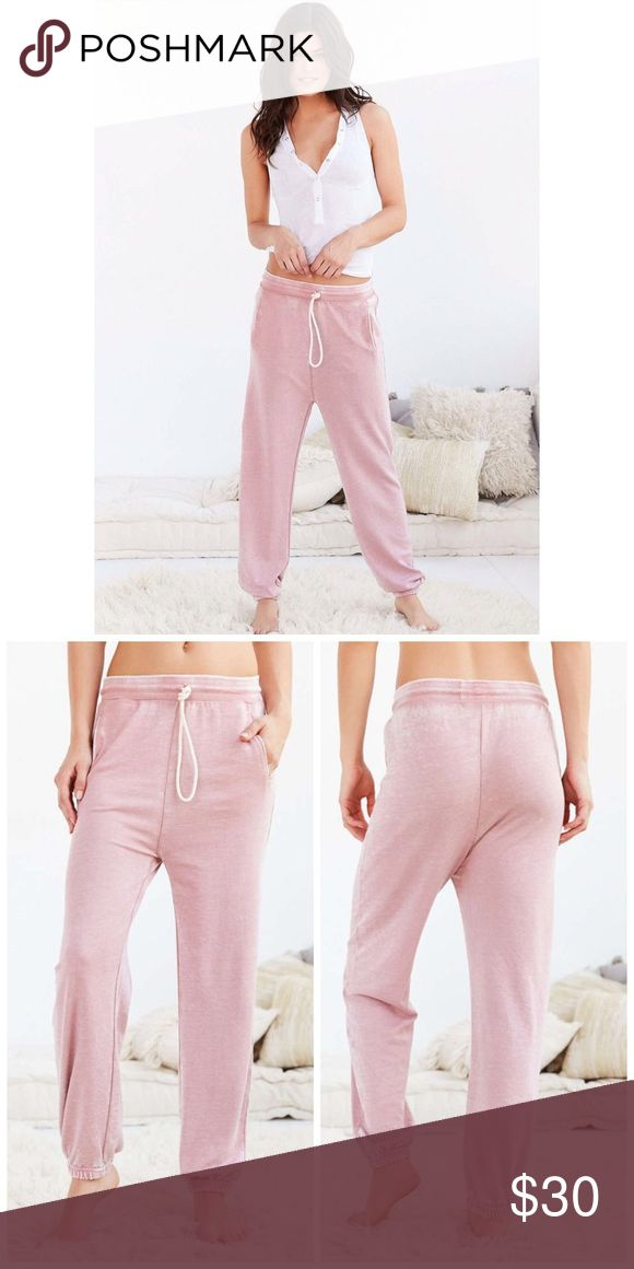 NWT Urban Outfitters Fleece Jogger Pants Out from under Urban Outfitters Pants Track Pants & Joggers