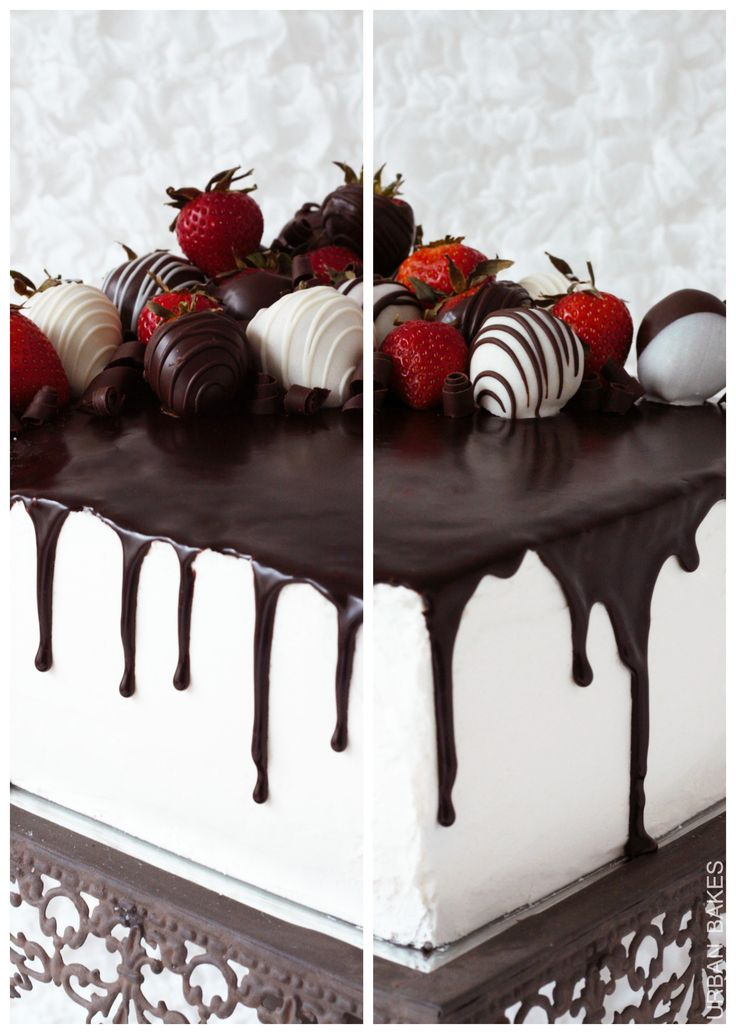 Tuxedo Layer Cake Dark Chocolate
