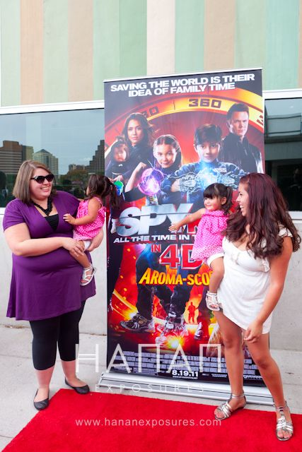 Spy Kids 4 Austin Premiere 2011 All The Time In The World Popular baby actor Belle Solorzano