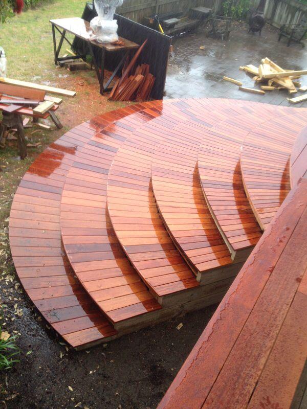 Shadow deck steps