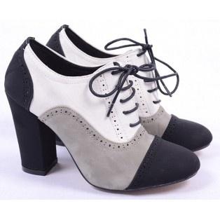 Pantofi de Dama Oxford Color White http://www.goldenware.ro/Pantofi-Dama/Pantofi-de-Dama-Oxford-Color-White