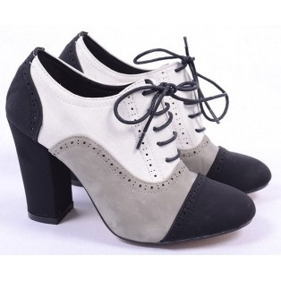 Pantofi de Dama Oxford Color White http://www.goldenware.ro/Pantofi-Dama/Pantofi-de-Dama-Oxford-Color-White