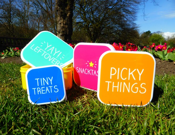 Cute little snack boxes!