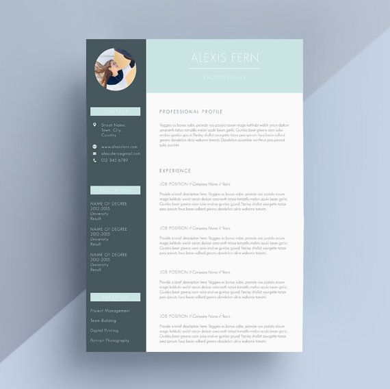 28 best resume    cv design images on pinterest