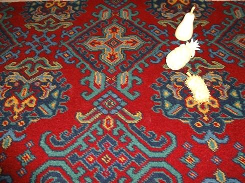 Turkey Smyrna Axminster carpet 80% wool and 20% nylon - Red sheme - width: 3.66m / 12' ' - Victorian carpet pattern