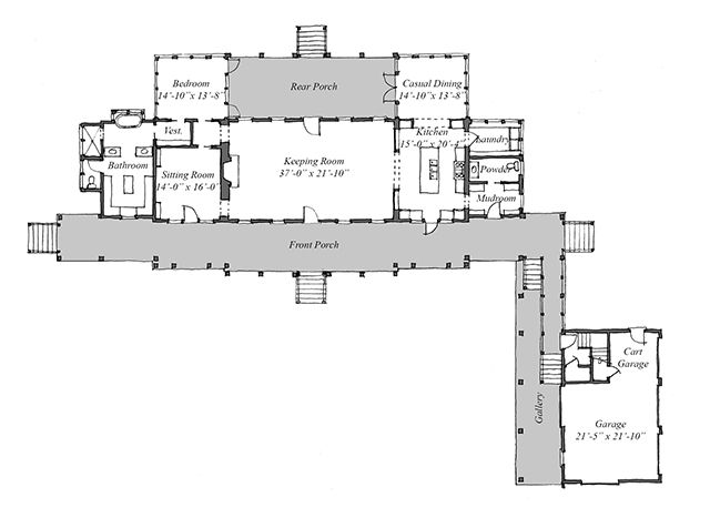 Southern living idea house plans 2013