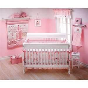 Disney Princess nursery: Crib Bedding, Idea, 4 Pieces Cribs, Princesses Happily, Nurseries, Disney Princesses, Happily Ever After, Baby Girls, Cribs Beds Sets