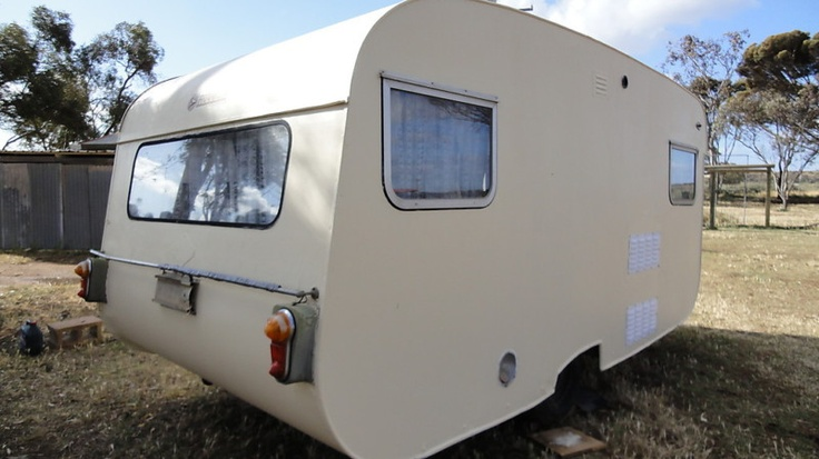 Model 1975 Australian York Retro Caravan  Blue Vintage Caravans  Pinterest