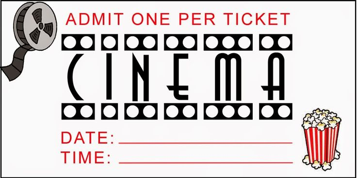 Family Strong: FREE Printable Movie Night Tickets