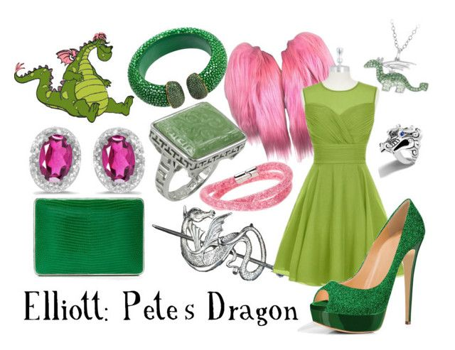 """Pete's Dragon"" by sugarsop on Polyvore featuring Dolce&Gabbana, John Hardy, Latelita, PearLustre by Imperial, BillyTheTree and Swarovski"