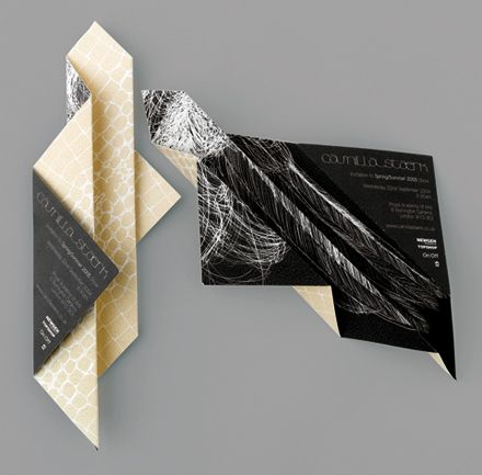 Folded broadsheet to show both the image and the pattern.