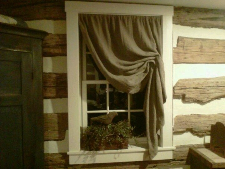 219 best Primitive Curtains images on Pinterest | Primitive curtains ...