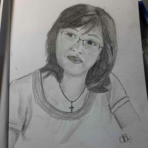 A birthday present sketch for mom ♡