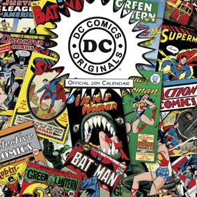 DC Comics classic cover for 2014 http://www.danilo.com/Shop/TVMovie-and-Entertainment-Calendars/Dc-Comics-2014-Calendar